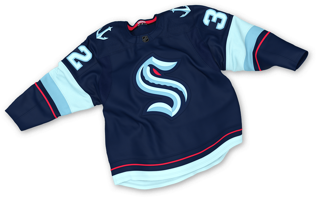 A first look at the Seattle Kraken's new jerseys
