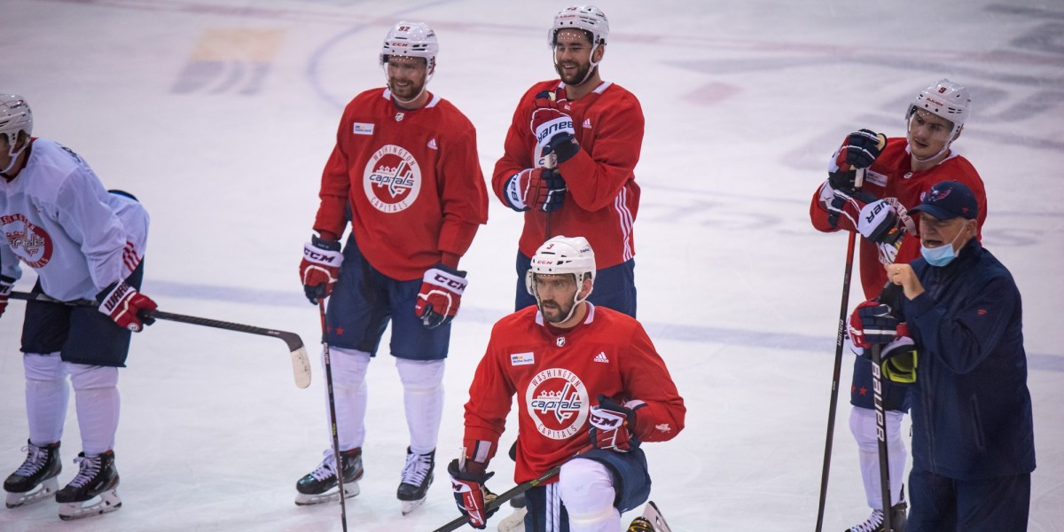 'A starting point': Capitals debut lines during second on-ice day of Training Camp