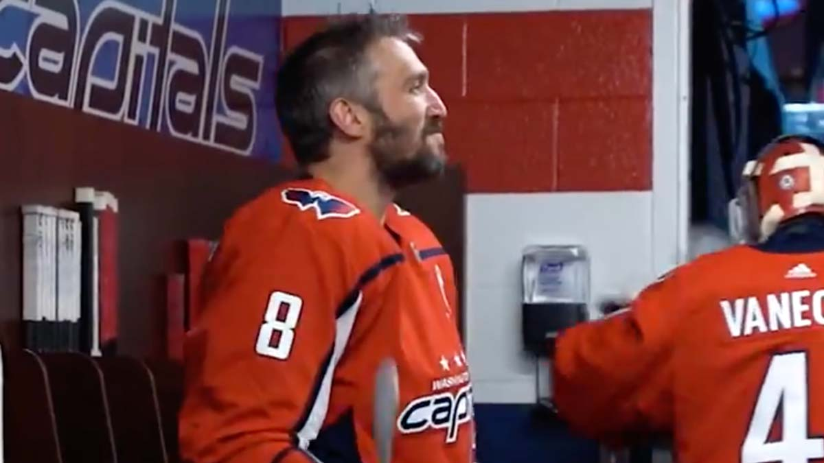 Alex Ovechkin returns from injury for Capitals season finale
