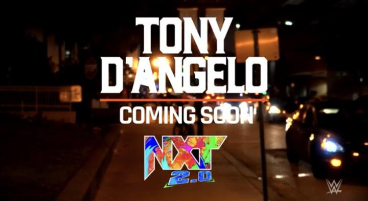 WWE NXT's newest wrestler is named Tony D'Angelo