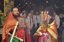 Divine Liturgy Easter Russia Peter and Paul Cathedral