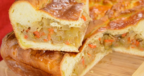 Cabbage Pie – Пирог с капустой