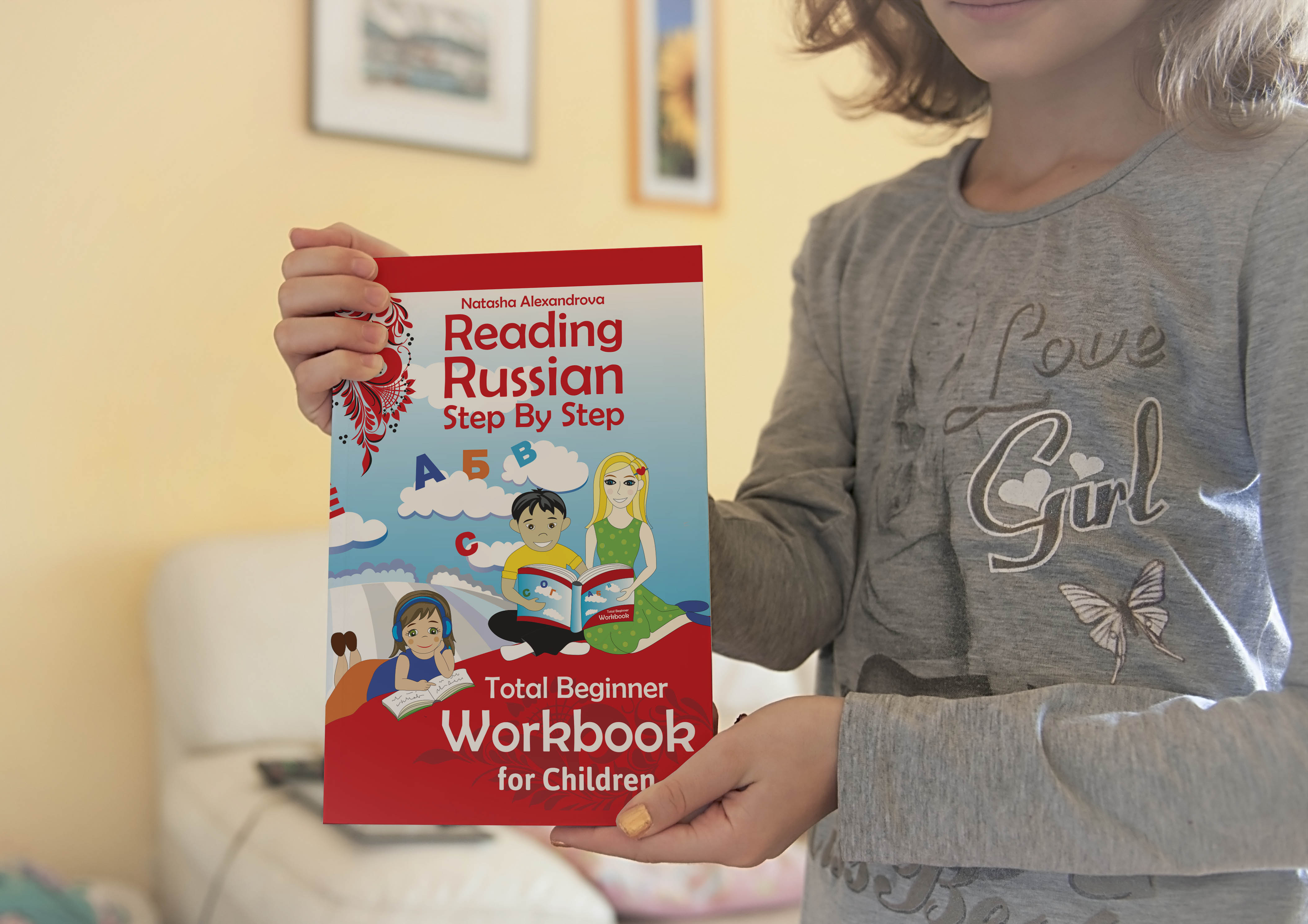 Reading Russian For Children Workbook