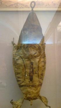 Bag made of a sea-dog in Kunstkamera