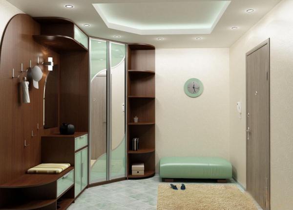 Малогабаритные прихожие в коридор — дизайн интерьеров на фото