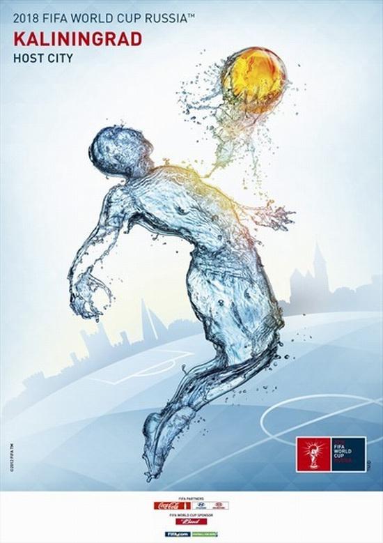 FIFA World Cup 2018 Russia - Kaliningrad poster