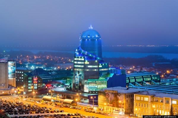 Samara city in winter time · Russia Travel Blog