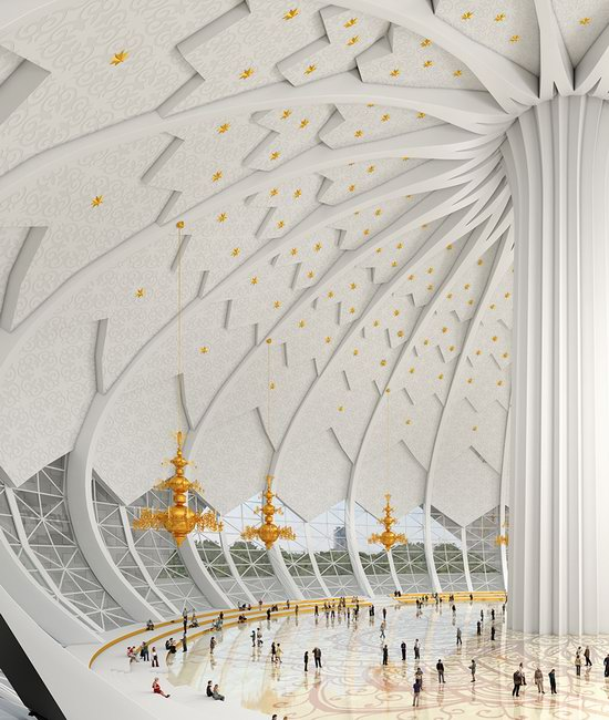 The draft concept of St. Catherine Cathedral, Ekaterinburg, Russia, photo 16