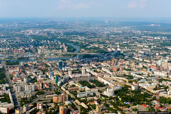 Chelyabinsk – the view from above · Russia Travel Blog