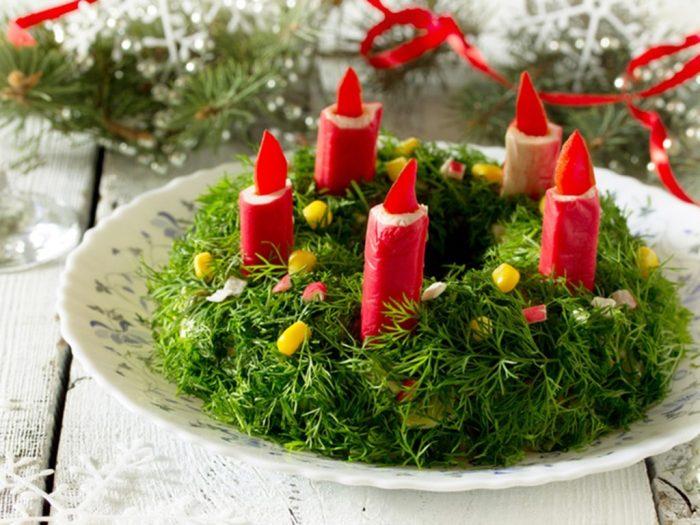 пасмурная оформление новогодних блюд фото сможет