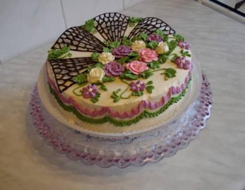 Как украсить торт|Красивые блюда