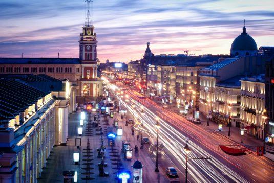 St. Petersburg: Newski Prospekt