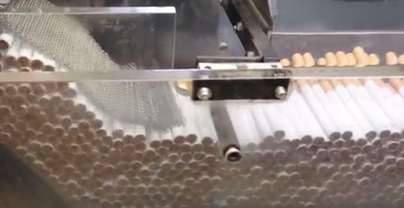 Der größte Zigarettenhersteller in Russland verkaufte Fabrik in Moskau