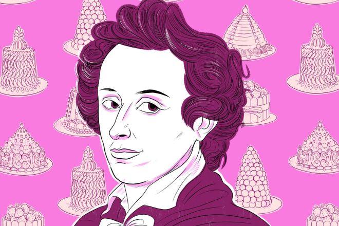 storia pasticceria rosa careme francia federica russo imparare teoria dessert