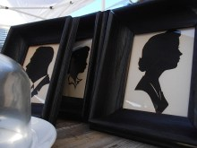 A family of silhouettes.