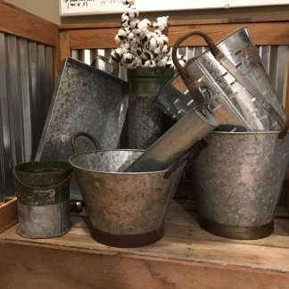 Metal Containers & Metal Decor