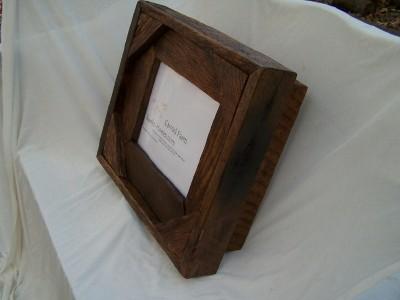 keepsake box with 8×10 frame