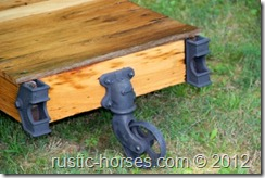 another factory cart table Charles E Francis Co. $575 sold