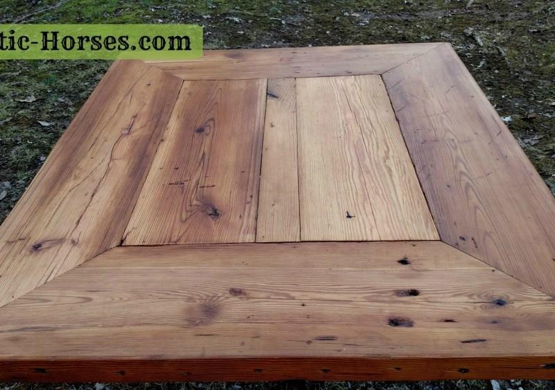 framed table