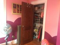 Pink/purple/gold bedroom