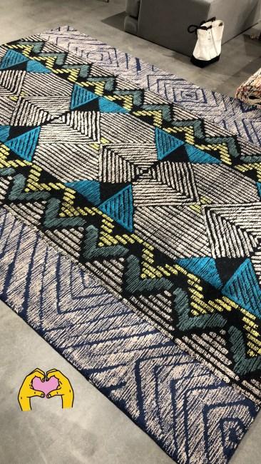 Ju's sweet new living room rug!