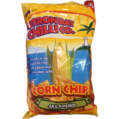 Byron Bay Jalapeno Corn Chips 175gm
