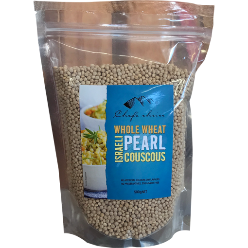 Chef's Choice Whole Wheat Israeli Pearl Couscous 500g
