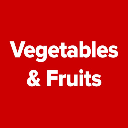 AA Entire Category - Vegetables/Fruit