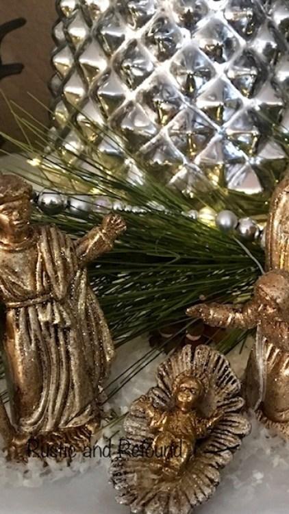 Christmas creche 2