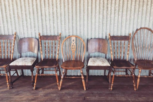 Mixed Brown Chairs