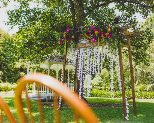 Hanging Lace Garland