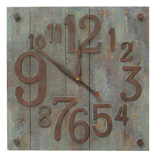 IMPORT Collection TIC 14-218 Bucolic Wall Clock