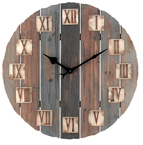 Regal Art & Gift Rustic Clock, 29.5-Inch