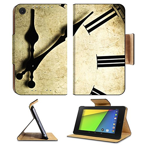 Asus Google Nexus 7 2nd Generation FHD 2013 Flip Case Close up of an old fashioned wall clock Studio work 9115973 by MSD Customized Premium Deluxe Pu Leather generation Accessories HD Wifi 16gb 32gb Luxury Protector Case