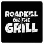 Roadkill on The Grill – BBQ Party Funny Square Wall Clock
