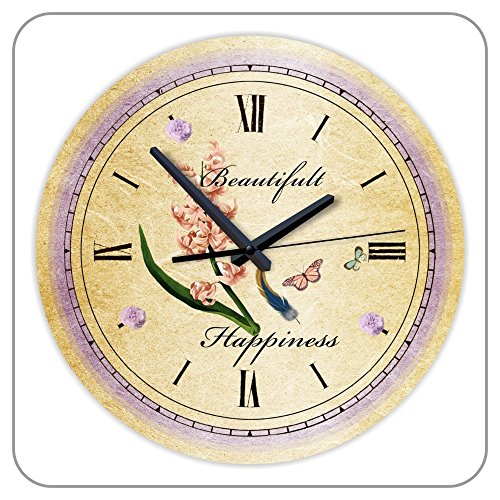 30cm Diameter Vintage Rustic Wall Clock Home Decor Clock Movement Watch on the Wall Round Clock