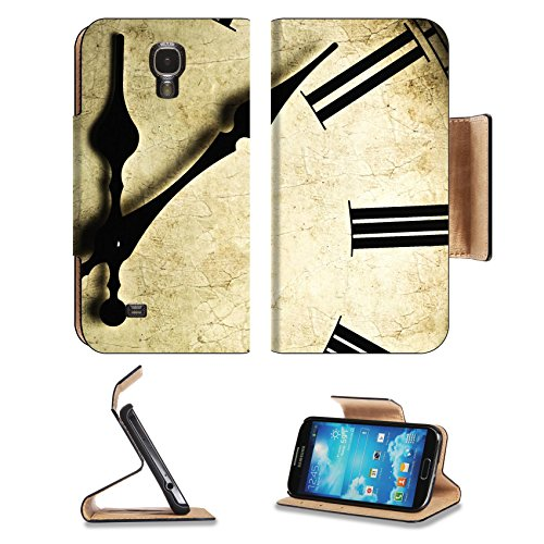 Samsung Galaxy S4 5S Flip Case Close up of an old fashioned wall clock Studio work 9115973 by MSD Customized Premium Deluxe Pu Leather generation Accessories HD Wifi 16gb 32gb Luxury Protector Case