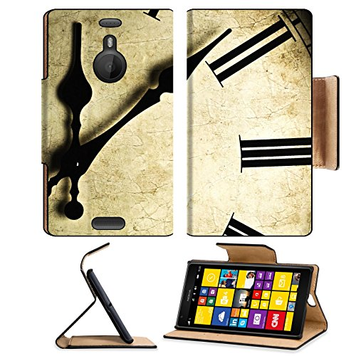 Nokia Lumia 1520 Flip Case Close up of an old fashioned wall clock Studio work 9115973 by MSD Customized Premium Deluxe Pu Leather generation Accessories HD Wifi 16gb 32gb Luxury Protector Case