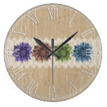 Beautiful Country Rustic Home or Office Decor Wallclock