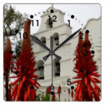 San Diego Mission Square Wall Clock