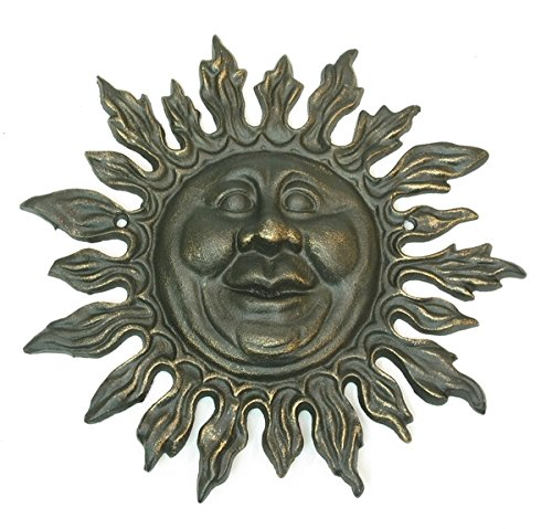 Americanoutfitter Cast Iron Sun Face – Perfect Gift For Men Women Couples Grandpa Father Mother Engagement Wedding Anniversary Christmas Birthday Him Her Sister Wife Husband