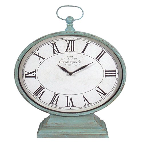 American Mercantile Metal Mantel Clock
