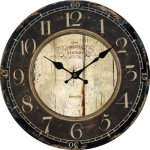 Lightinthebox Euro Country Vintage Wood Indoor Wall Clock Home D??cor Clocks Size M