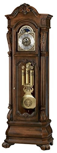 Howard Miller Edition Grandfather Floor Clock Hamlish, Rustic Cherry