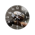 Bicycle Bell Round Clock
