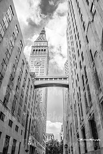 Art Deco Photography, Clock Tower, Gotham Print, Old New York, Architectural Print, New York City, Home Wall Art, Portrait, Vertical, Sizes Available from 5×7 to 20×30.