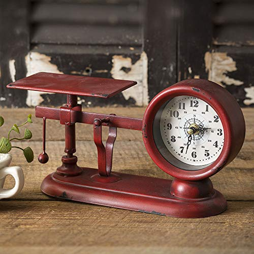 CTW Home Collection Balance Scale Clock