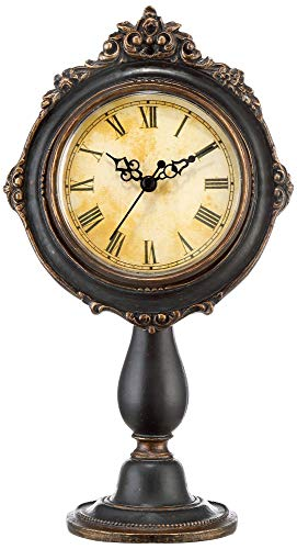 Kensington Hill Dailey 11 1/4″ High Vintage Traditional Table Clock