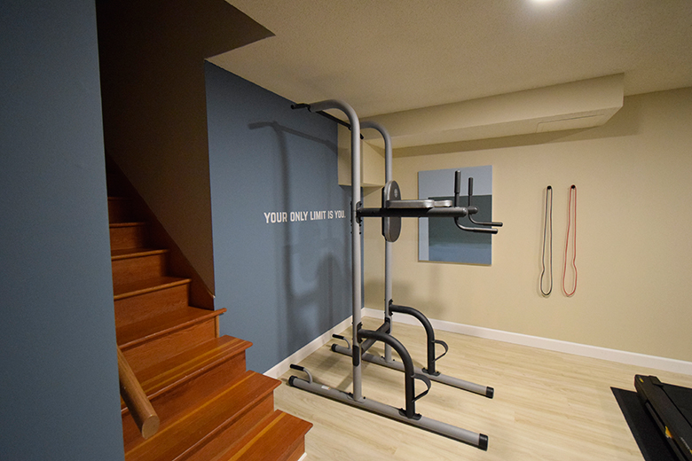 Home gym storage ideas