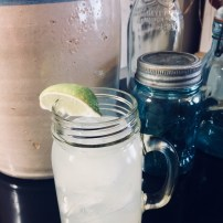 My glass of Iced Lemon-Limeade
